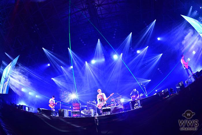【ライブレポート】04 Limited SazabysがCOUNTDOWN JAPAN 18/19に登場!年越しの練習でKOUHEIの女装姿!?<rockin'on presents COUNTDOWN JAPAN 18/19>
