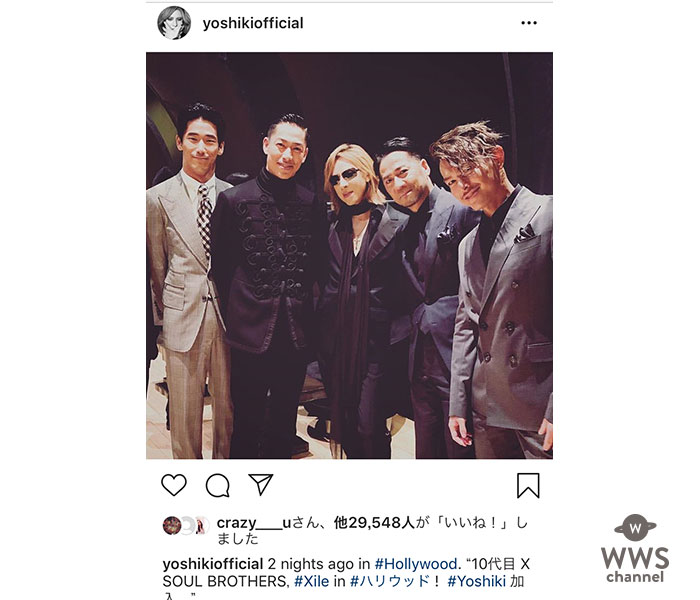 X JAPAN YOSHIKIがEXILEに加入?!「10代目 X BROTHERS」結成にファンからコメント殺到!