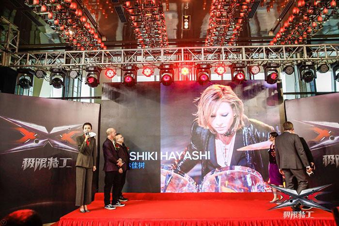YOSHIKI、ハリウッド映画「トリプルX」最新作・ヴィン・ディーゼル主演「xXx 4」の音楽監督に就任!!