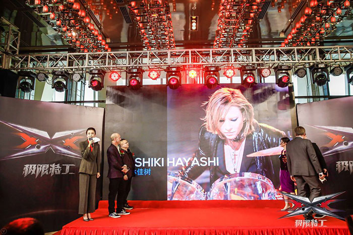 YOSHIKI、「xXx 4」音楽監督就任のニュースが米YAHOO!サイトにも掲載!25日に緊急記者会見決定!!
