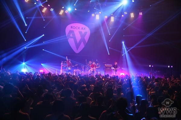 【ライブレポート】KEYTALKがROCK AX(ロックアックス)のトップバッターで登場!<ROCK AX Vol.1>