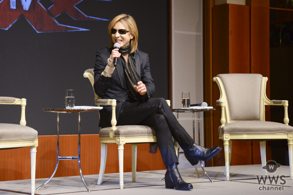 YOSHIKI、ハリウッド映画『トリプルX4』の音楽監督に就任!都内で記者会見を開催!!