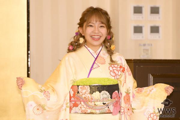 SKE48・北川綾巴「愛知県の誇りと言われるグループになる」!AKB48グループ成人式で目標を語る!!