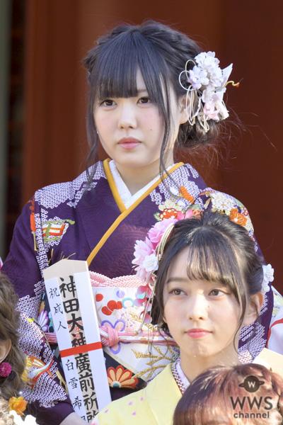 SKE48・荒井優希「免許を取って車に乗りたい」!AKB48グループ成人式で抱負を述べる!!