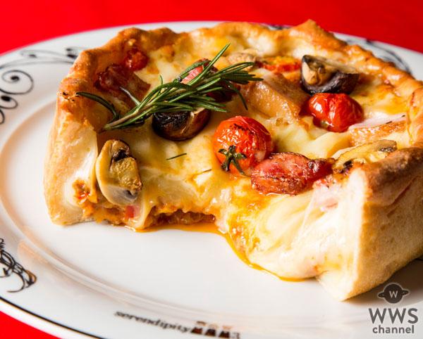 NY発 日本初出店のレストランカフェ「Serendipity 3」、「アメリカ産チーズメニューコンテスト」ピザ部門金賞作品 超極厚ピザが限定メニューになって登場!