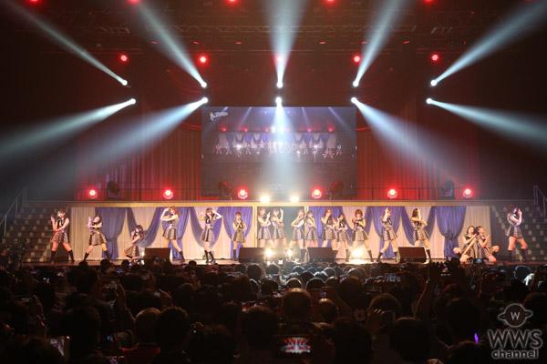 AKB48 チーム8 Foxiesが単独コンサート開催!佐藤七海と佐藤栞のセクシーなパフォーマンスで会場を魅了!!