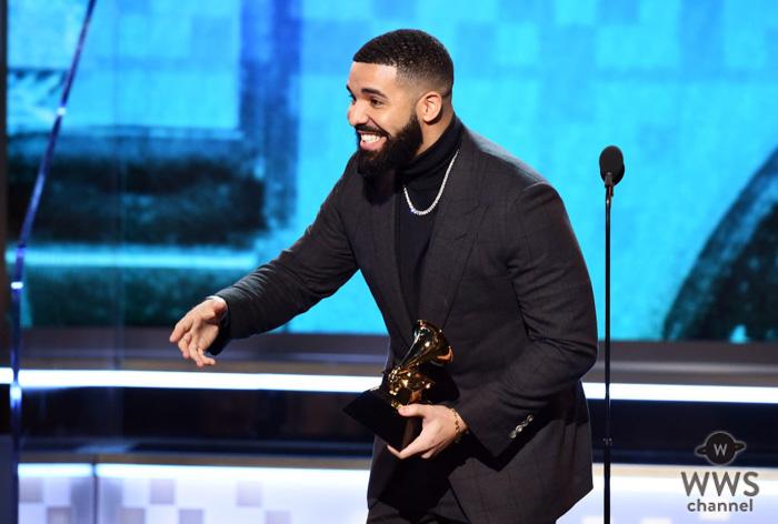 ドレイクの『God's Plan』が「最優秀ラップ・ソング賞」を受賞!<第61回グラミー賞>