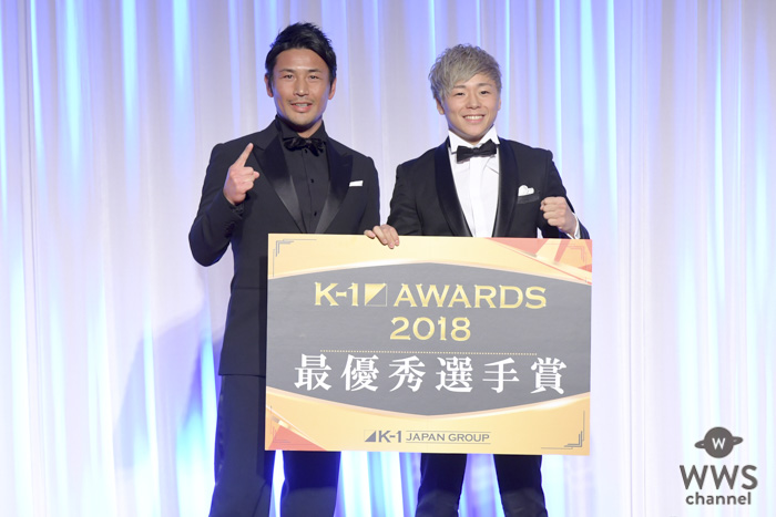 武尊選手、「K-1 AWARDS (アウォーズ) 2018」のMVPを受賞!