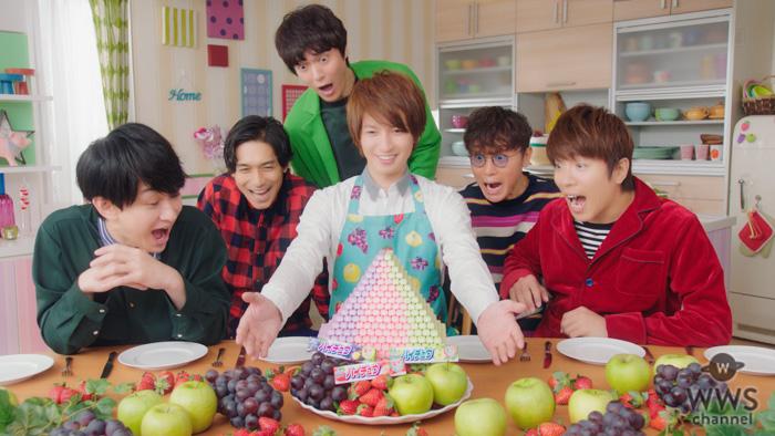 関ジャニ∞・丸山隆平が衝撃の姿に!?「ハイチュウ」新CMが3月より放映開始!!