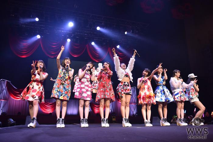 つばきファクトリー、メジャーデビュー2周年の日にツアー初日を開催!