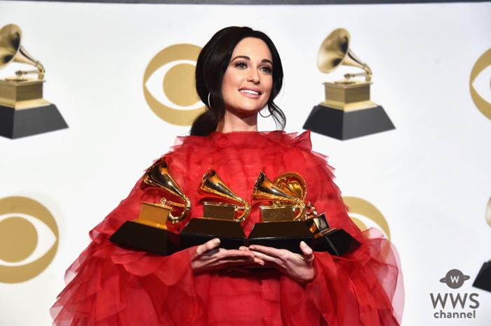 ケイシー・マスグレイヴスが「年間最優秀アルバム賞」他4部門を受賞!<第61回グラミー賞>