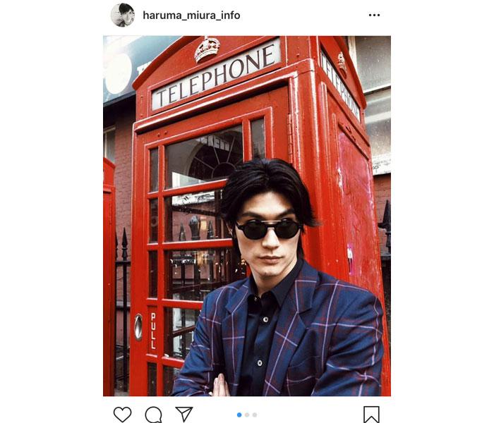 三浦春馬がロンドンの街でチェックスーツを華麗に着こなし!「似合ってますね」「一番好きかもしれない」と絶賛の声!!
