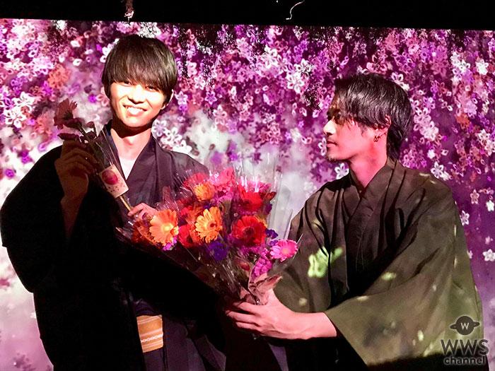 高身長イケメンSOLIDEMOがインスタ映えアート展で花贈りプレミアムイベント開催!
