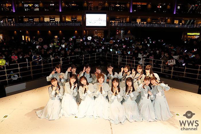 STU48、約1年ぶりの2ndシングルリリース!ラゾーナ川崎にて「⾵を待つ」発売記念イベントを開催!