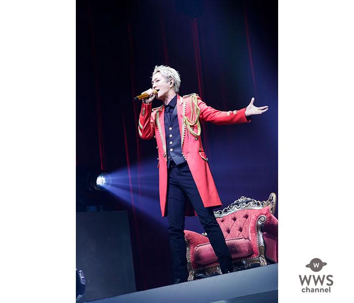 urata naoya (AAA)、 ライブツアーファイナル&10周年記念ライブ、ゲストも祝福に駆けつけ大盛況で締めくくる!