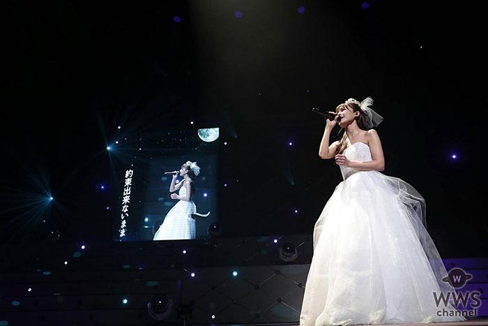 """宇野実彩子(AAA)、初のソロツアー「UNO MISAKO LIVE TOUR 2018-2019 """"First love""""」が東京NHKホールにてファイナル公演を迎える!"""