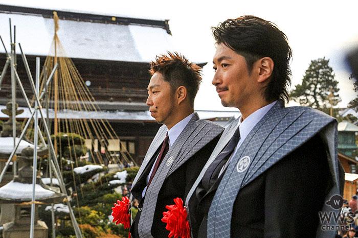 EXILE ÜSA MAKIDAI、長野 善光寺の豆まきに特別来賓として参加!2万人の参拝客らを魅了!!