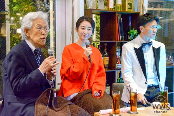 嶋村吉洋氏主催のトークショーが大盛況!!フリーアナウンサー・安堂サオリがモテ術に赤面「いろんな角度からドキドキが溢れてます」
