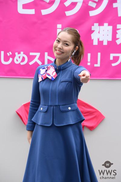 東池袋52が野外ステージで『雪セゾン』を歌唱!横浜髙島屋ピンクシャツデーイベントに参加!