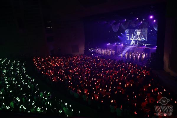 【ライブレポート】SKE48・松村香織、卒コンでまさかの落とし穴に!?「やりきった!悔いはありません!!」