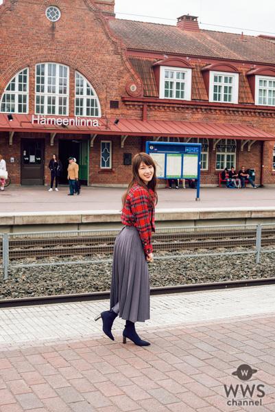 乃木坂46・高山一実、写真集で訪れたフィンランドに感動!「恋が実った感じです!」