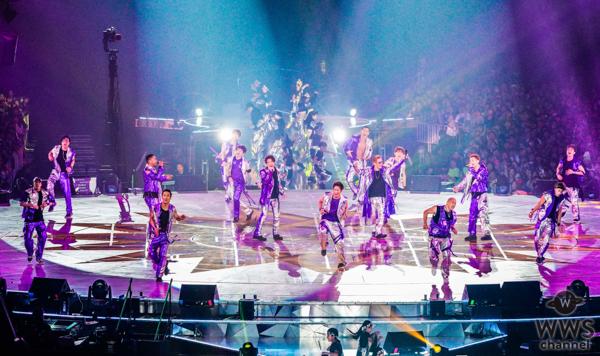 新生EXILE、3年ぶり&新体制初の全国ドームツアーに88万人が熱狂!「LDH PERFECT YEAR 2020」の開催も発表!