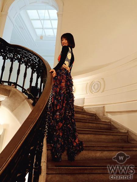後藤真希が纏うユミ友禅の美しいスタイリングが話題!