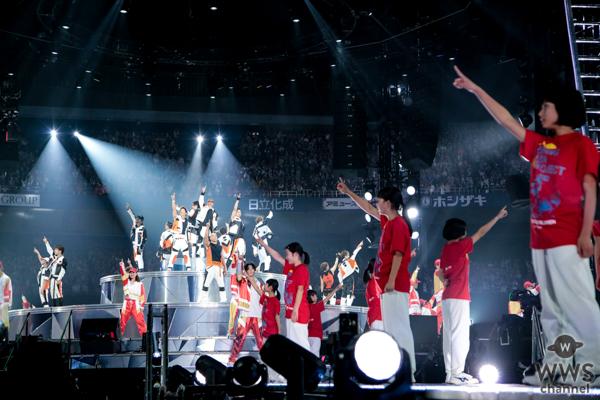 EXILE、大阪・京セラドーム公演で 広島の子ども達59名とダンス!4万6,000人の前で「Rising Sun」披露!!
