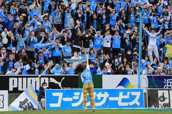 ジュビロ磐田2019年シーズンソングアーティストの足立佳奈がホーム開幕戦で「WE CAN!」を熱唱!