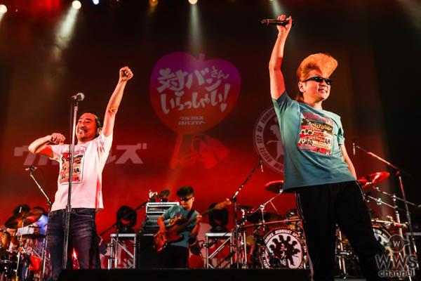 ウルフルズと氣志團が初対バン!名曲「ガッツだぜ!!」をサプライズ披露!!