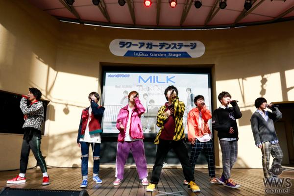 M!LK、ラクーアガーデンステージにてリリースイベントファイナルを締めくくる!