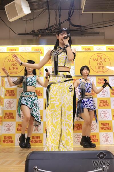 アップアップガールズ(仮)、目指すは2020年オリンピックの代表ソング! ニューシングル『アゲノミクス!!/キミロス/阿破乱舞』のリリースイベントを開催!