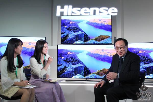 準ミス東大、準ミス成城の現役女子大生が、新製品テレビ発表会潜入!営業部長の好きなテレビは?