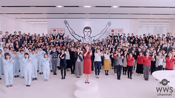 綾瀬はるかと従業員など総勢約400人が出演する新TV-CM「スキパ ニスマイル」篇を3月1日(金)より全国でオンエア!