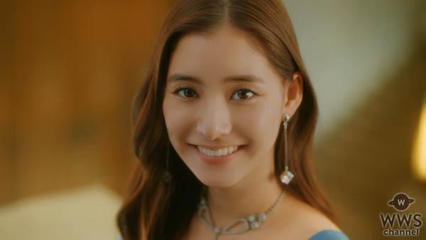 新木優子が由緒ある博物館の大階段でドレス姿を披露!「オリゴスマートミルクチョコレート」新CMが2019 年2月26日よりオンエア!!