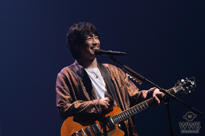 DEAN FUJIOKA(ディーン・フジオカ) 初のアジアツアースタート!「Maybe Tomorrow」をライブ初披露!