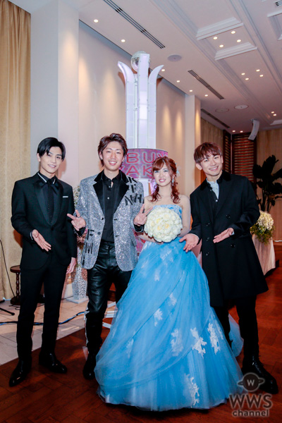 三代目JSB、NAOTO&岩田剛典が結婚式にサプライズで出演!