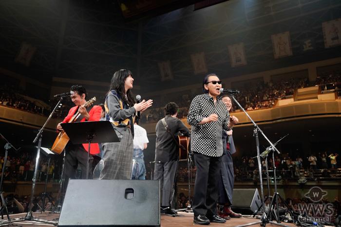 【ライブレポート】J-WAVE・トーキョーギタージャンボリーアンコールに、出演者7名全員が登場!大歓声の中で『夢の中へ』を歌い上げる!<30th J-WAVE TOKYO GUITAR JAMBOREE>