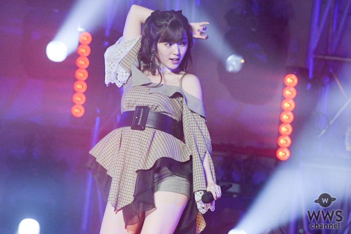 鈴木愛理が「#卒おめ!」のステージに出演!セクシーなダンスパフォーマンスで魅了!<#卒おめ!2019>
