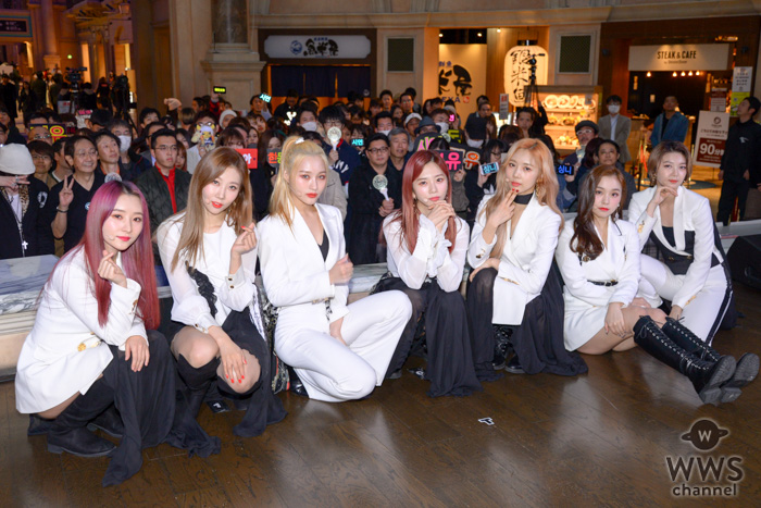 DREAMCATCHER、日本2ndシングルのリリイベをお台場で開催!