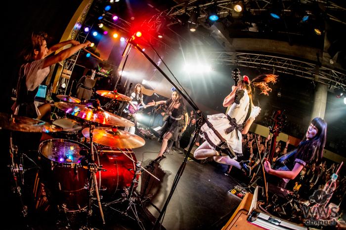 【ライブレポート】BAND-MAID(バンドメイド)がアベストに出演!熱量掻き立てるライブパフォーマンス!!<A.V.E.S.T project Vol.13>