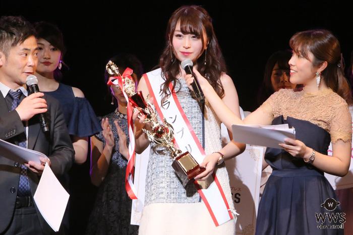 元SKE48・中村優花、同期の柴田阿弥へ「阿弥ちゃんみたいに活躍したい」!アナウンサーへの夢を語る!!<Miss of Miss CAMPUS QUEEN CONTEST 2019>