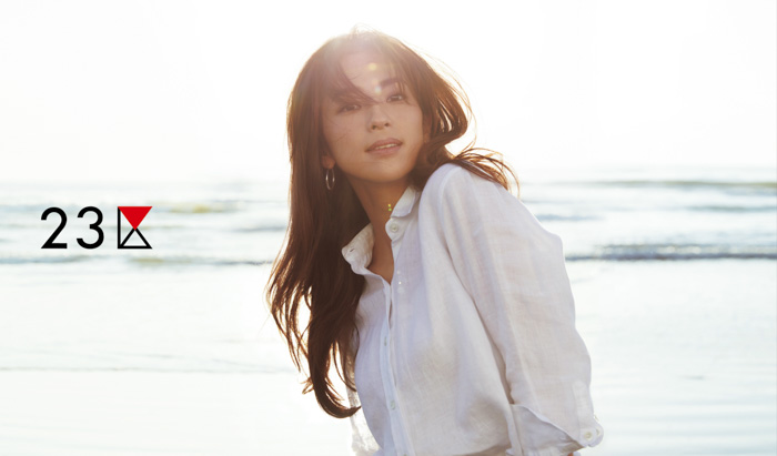 中村アンがレディスブランド『23区』の広告モデルに起用。