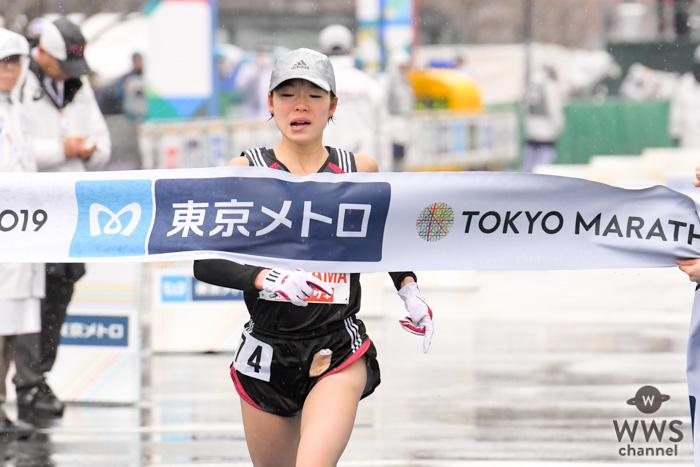 東京マラソン2019、初マラソンとなる一山麻緒が日本人女子トップ!