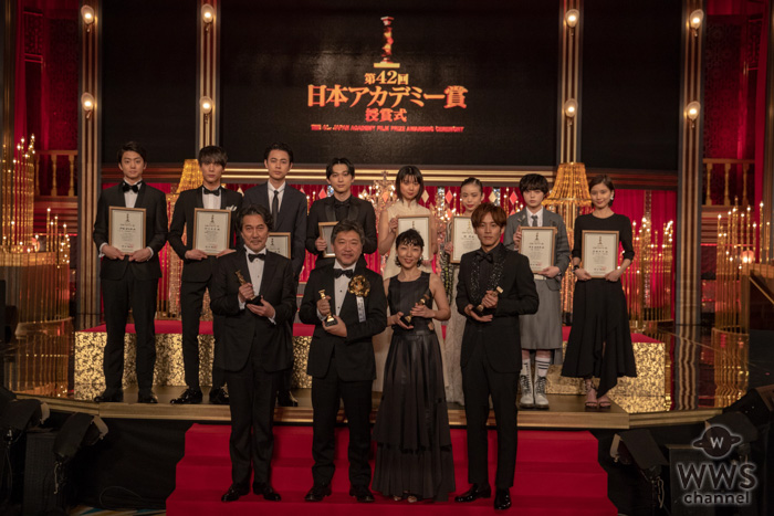 欅坂46・平手友梨奈、吉沢亮らが「新人俳優賞」を受賞!<第42回日本アカデミー賞>