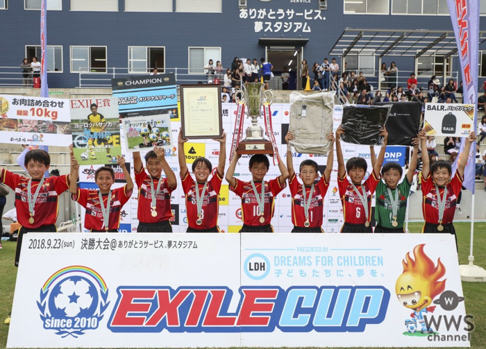 LDH主催の小学生フットサル大会『EXILE CUP 2019〜ROAD TO EUROPE〜』開催決定!
