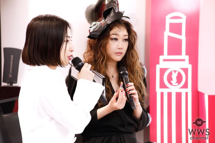 JUJUがイヴ・サンローランイベントで恋愛感を語る!MV出演の小関裕太のメッセージも!