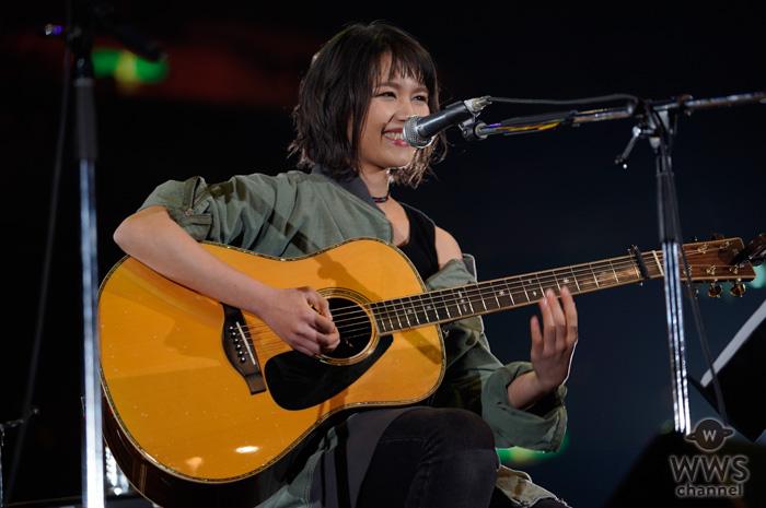 【ライブレポート】Anly、J-WAVE ・トーキョーギタージャンボリーで、感情掻き立てるライブステージ!<30th J-WAVE TOKYO GUITAR JAMBOREE>