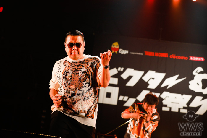 【ライブレポート】DJダイノジ、ROAR STAGEのトリに登場!超絶のDJプレイでラストステージを盛り上げる!<ビクターロック祭り2019>