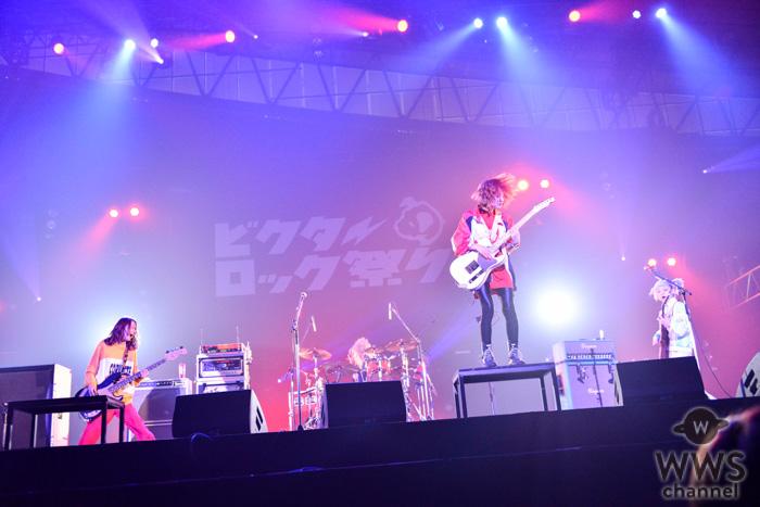 【ライブレポート】SCANDAL、初出演の「ビクターロック祭り」でボルテージ急上昇のパフォーマンスを披露!<ビクターロック祭り2019>